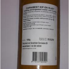 Carnibest Hond Kip/Rijst 1000 gram