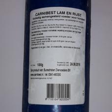 Carnibest Hond Lam/Rijst 1000 gram