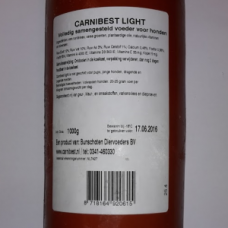 Carnibest Hond Light 1000 gram