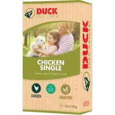 Duck Kip Enkelvoudig 10x100 gram