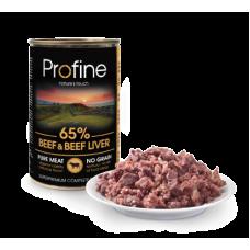 Profine Pure Meat Rund en Runderlever 400 gram