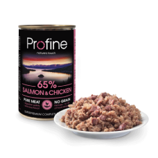 Profine Pure Meat Zalm en Kip 400 gram