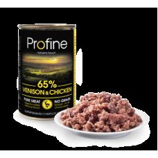 Profine Pure Meat Hert en Kip 400 gram