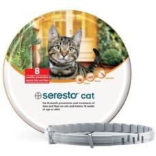 Seresto vlooien/tekenband kat (8 maanden bescherming)