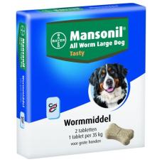 Mansonil large dog tasty