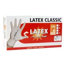 Latex Handschoenen (per 100 stuks)