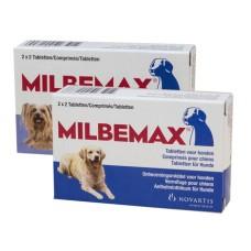 Milbemax Hond 4 tabletten (5-75kg)
