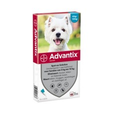 Advantix 100 (voor 4 tot 10kg)