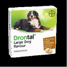 Drontal Dog Large Tasty 2 stuks