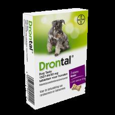 Drontal Dog Tasty 2 tabletten